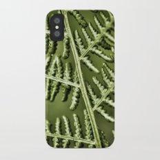 Leaf iPhone X Slim Case