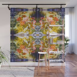 Marigold Photographic Pattern #1 Wall Mural