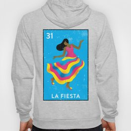 The Party Mexican Loteria Bingo Card Hoody