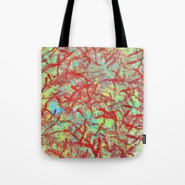 Flamingo Tracks Tote Bag
