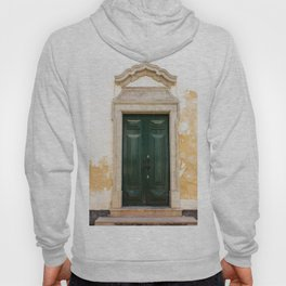 Old door in Tavira, Portugal Hoody