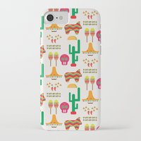 mexico iPhone & iPod Cases featuring Mexico by Ana Types Type