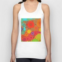 circles Tank Tops featuring Circles by Mr and Mrs Quirynen
