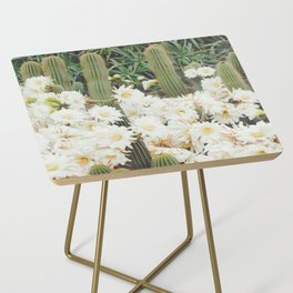 Cactus and Flowers Side Table