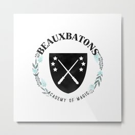 Beauxbatons Academy of Magic Metal Print
