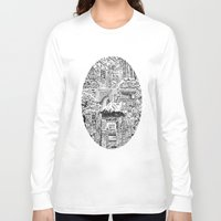 lost in translation Long Sleeve T-shirts featuring Lost In Translation by Candice Soon