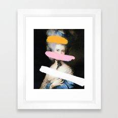 brutalized gainsborough 2 framed art print