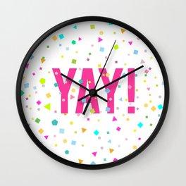 YAY Print Wall Clock