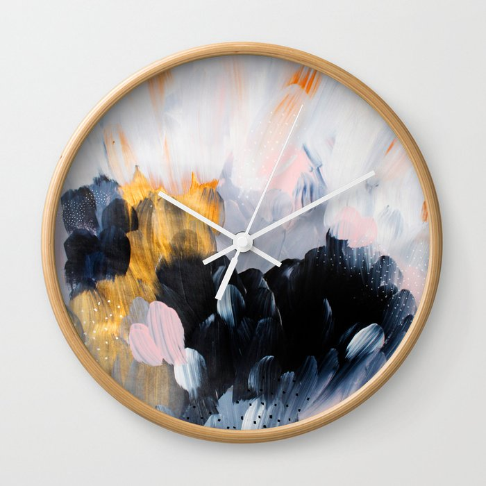 formation: bliss Wall Clock