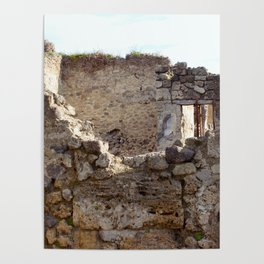 Pompeii Ancient Dwelling - 1 Poster