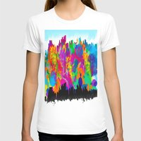cityscape T-shirts featuring CityScape by Artbymaritza