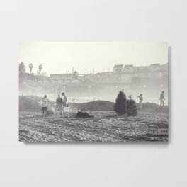 Christmas in California Metal Print