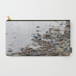 Pebble Stone Beach Carry-All Pouch