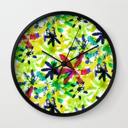 Colorful Field Wall Clock