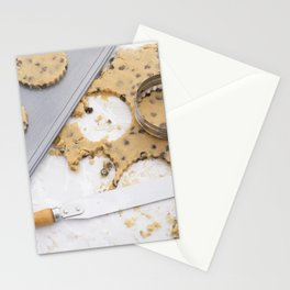 Making cookies Stationery Cards