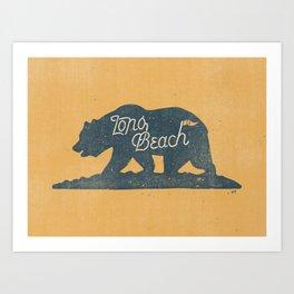 Long Beach, California Art Print