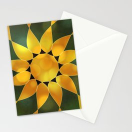 Autumn Sun Two Stationery Cards