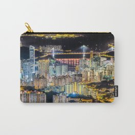 Hong Kong City View At Night Carry-All Pouch