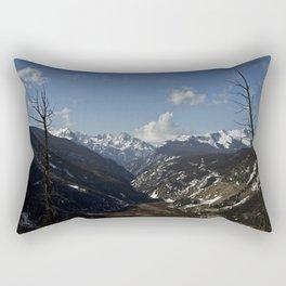Silverton Valley - Colorado Rectangular Pillow