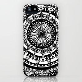 The Island of Maui [Tribal Illustration] iPhone Case