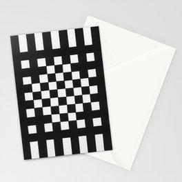 Interwoven Stripes Stationery Cards