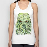 cthulhu Tank Tops featuring Cthulhu by Olechka
