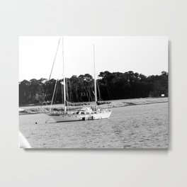 Left Behind Metal Print