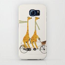 lets tandem giraffes iPhone Case