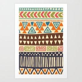 Tribe pride Art Print