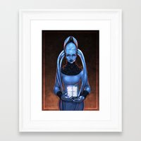 fifth element Framed Art Prints featuring The Fifth Element: Plavalaguna by Gunkiss