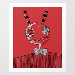 Mister Friend Art Print