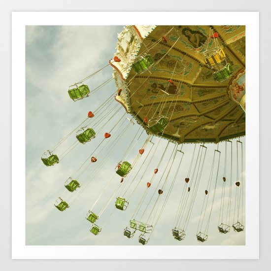 all the fun of the fair ...  Art Print