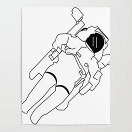Space explorer Poster