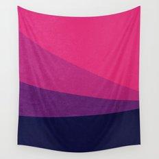 Stripe VII Ultraviolet Wall Tapestry