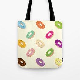 Donuts Pattern Tote Bag