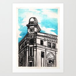 Philippines : Regina Building Art Print