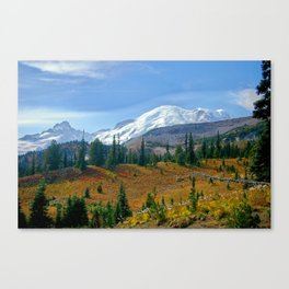 Mt. Rainier fine art print Canvas Print
