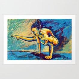 Jyoti (ज्योति) Art Print