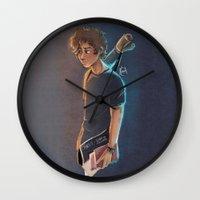 artsy Wall Clocks featuring Artsy Harry by Laia™
