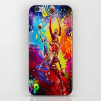 nba iPhone & iPod Skins featuring NBA by Don Kuing