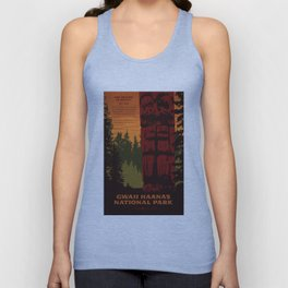 Gwaii Haanas National Park Reserve, National Marine Conservation Area Reserve & Haida Heritage Site Unisex Tank Top