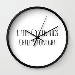 I Feel God Wall Clock
