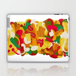 Beer And Pizza Laptop & iPad Skin