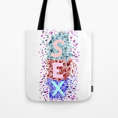 Shattering Sex Tote Bag