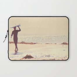 Surfer photograph. A Visceral Need Laptop Sleeve