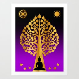 Bodhi Tree0404 Art Print