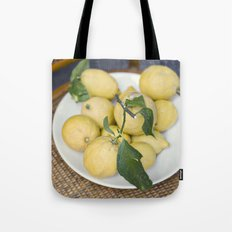 when life hands you lemons::cinque terre, italy Tote Bag
