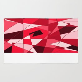 Shapes of Red Rug