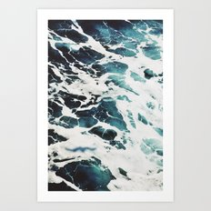 Dark Sea Art Print
