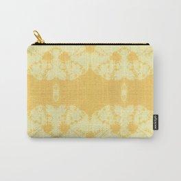 Eco Shibori Tumeric Carry-All Pouch